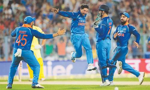 Yadav hat-trick, Kohli hand India victory at Eden