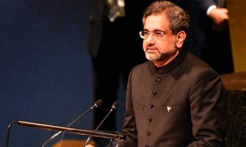 Pakistan won't be a 'scapegoat' in Afghan war, PM Abbasi tells UN General Assembly
