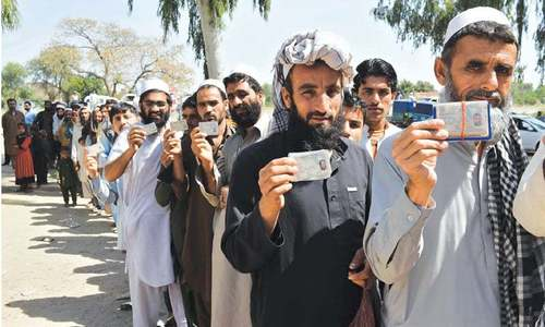 Nadra registers 0.1m Afghans in one month