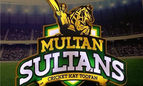 Wasim Akram stars as Multan Sultans unveil logo in Karachi