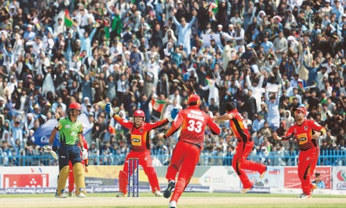 Band-e-Amir Dragons claim Afghan T20 league
