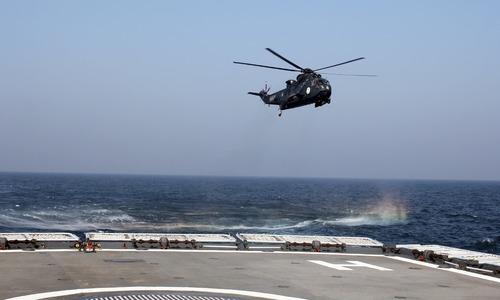 فضاء سے سمندر میں مار کرنے والے جہاز شکن میزائل کا کامیاب تجربہ