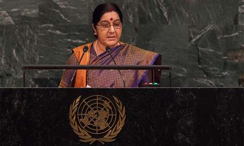 Pakistan 'export factory for terror', claims Indian FM Sushma Swaraj at UNGA