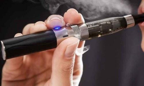 ای سگریٹ بھی صحت کے لیے خطرہ