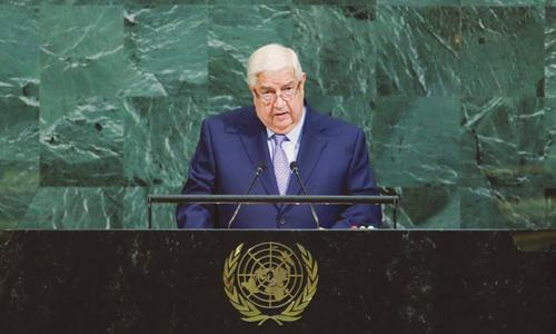 Victory is now within reach, says Syria at UN