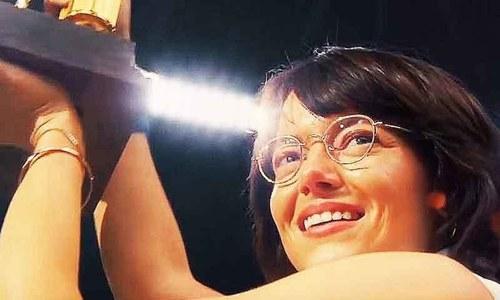 ایما اسٹون کی فلم 'بیٹل آف سیکسز' کا اچھا آغاز