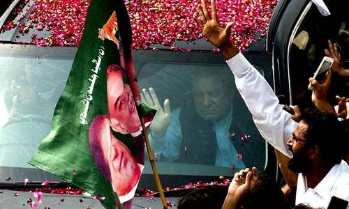 Nawaz Sharif returns to Pakistan today to face NAB cases
