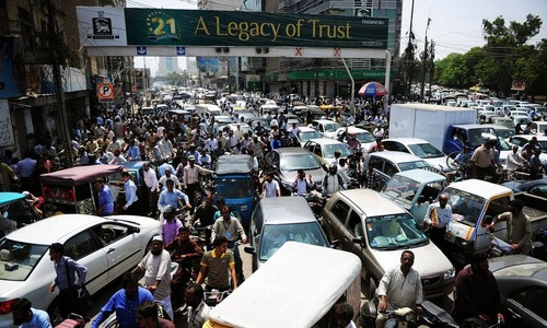Karachi — a case study of an unsustainable city