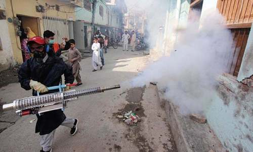 Eight booked after detection of dengue larvae in houses