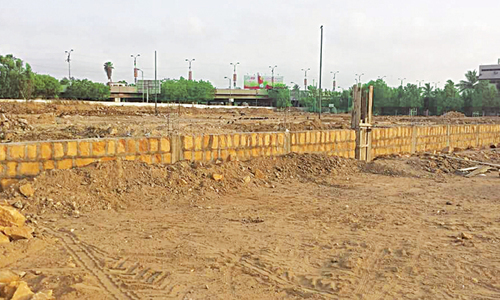 Restoration of commercial plot raises questions