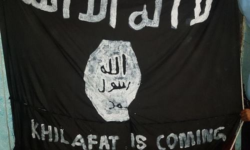 Police register FIR against appearance of 'IS flag' on Islamabad outskirts
