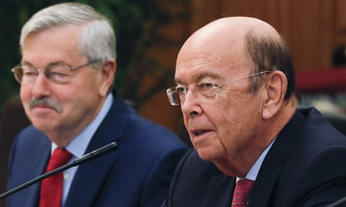 US commerce secretary in Beijing ahead of Trump trip
