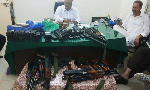 AJK schoolteacher booked for selling, possessing firearms