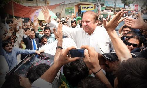 Sharif back in Pakistan for personal, party reasons