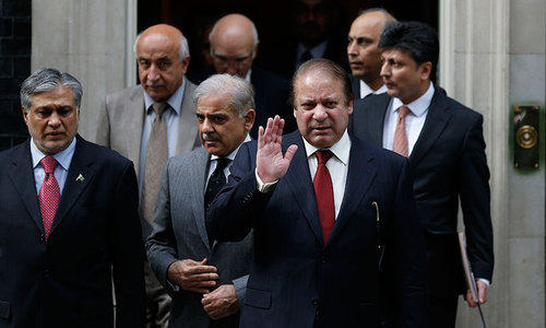 Nawaz Sharif appears before NAB court