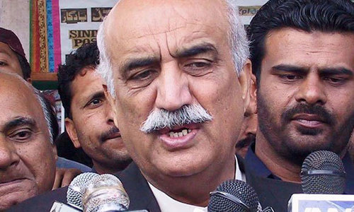 Khursheed slams Imran over bid to change leader of opposition