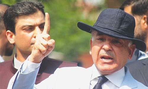 Notice to ministry on plea for placing Shahbaz on exit control list