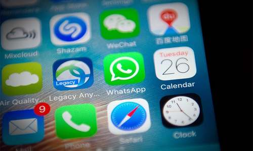 China disrupts WhatsApp ahead of Communist Party meeting