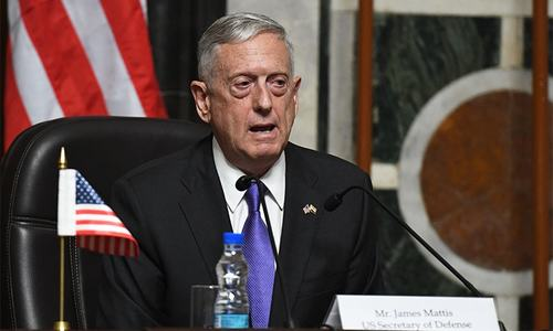 US wants diplomatic fix for North Korea crisis: Mattis