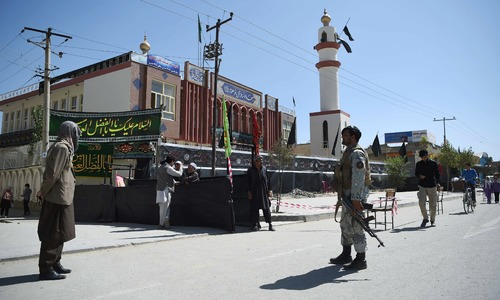 Shias on high alert in Afghanistan fearing attacks ahead of Ashura