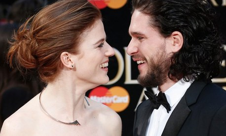Kit Harington and Rose Leslie are engaged and Twitter has zero chill