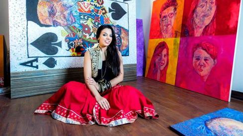 Pakistanis are more talented and aware than the West, says artist Amina Ansari