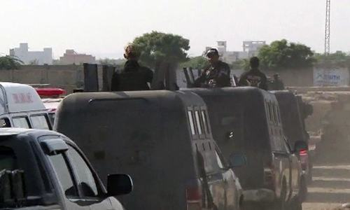 'AQIS militant' among five killed in Karachi encounter