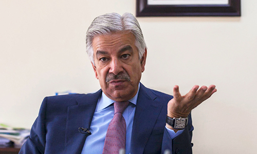 Don't blame Pakistan, Haqqanis were your 'darlings' at one time: Asif tells US