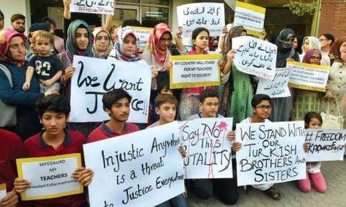 Turkish families in Pakistan renew appeal for security