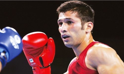 Pakistan boxer Waseem maintains ranking in Panama fight