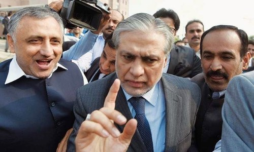 Dar challenges accountability court indictment in Islamabad High Court