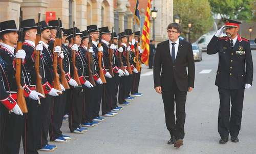 Independence or bust: Catalan leader boxed in by his own angry base