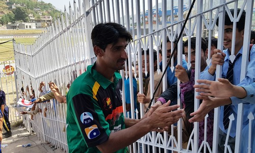 Clocking 90mph, AJK's pacer Salman Arshad dreams of making it to national squad