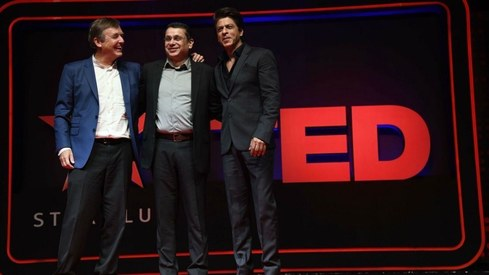 "SRK's Hindi version of Ted Talks hopes to offer ""lifelong learning"" to Indian viewers"