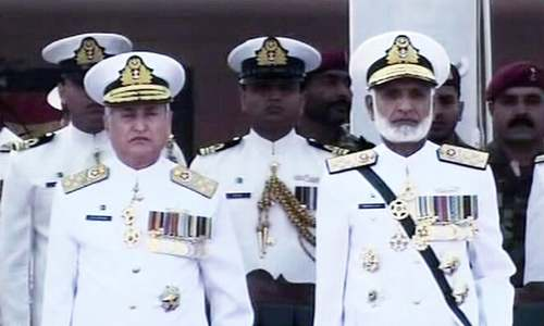 Admiral Zafar Mahmood Abbasi takes charge of Pakistan Navy