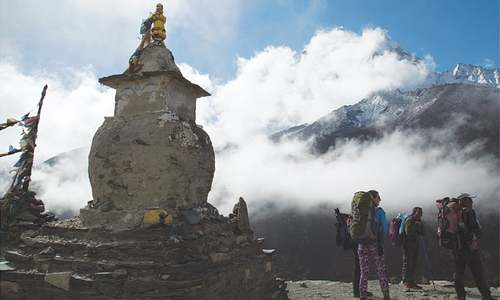 TRAVEL: ON TOP OF THE WORLD
