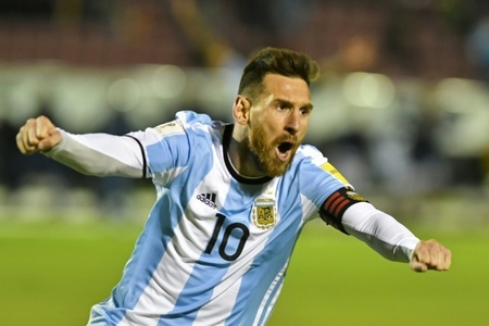 Messi secures Argentina's spot in World Cup with brilliant hat-trick