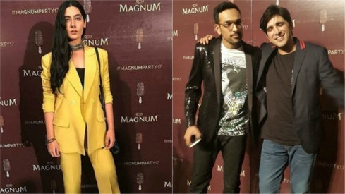 Magnum Chocolate Party proved that jackets and blazers are back in a big way