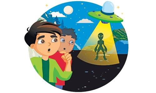 Story Time: An alien friend