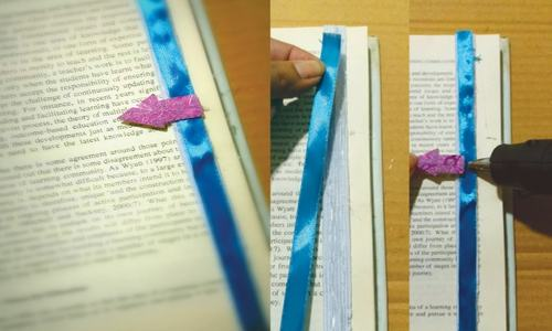 Wonder Craft: Ice cream stick arrow bookmark