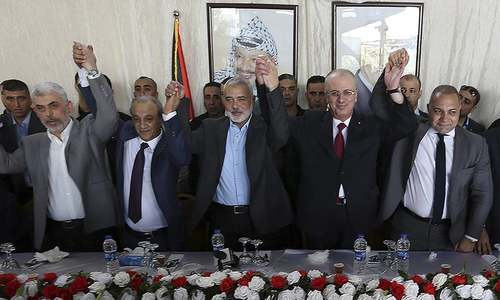 Rival Palestinian factions Hamas and Fatah reach agreement