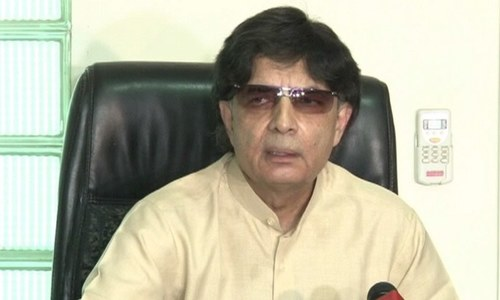 Nisar urges Nawaz to avoid confrontation with courts