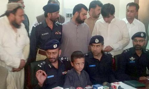 Child kidnapped from Quetta recovered