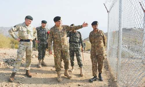 UK army chief briefed on Raddul Fasad, border management