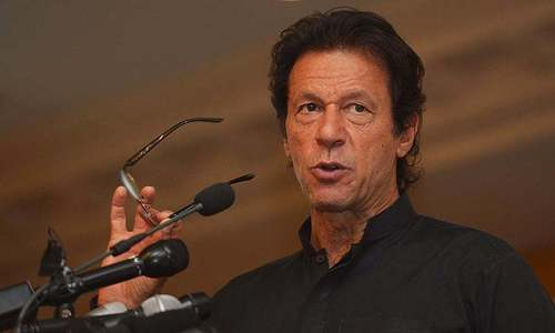 Imran threatens to hold 'massive' rally if PML-N continues to 'malign judiciary, army'