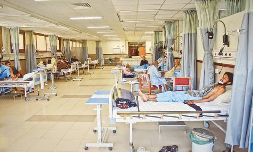 PML-N MPA's son manhandles THQ hospital medical superintendent