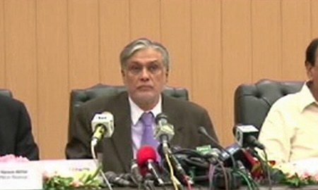 Dar says govt achieved revenue collection targets in first quarter of FY17-18