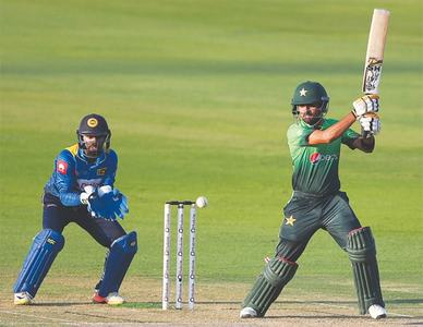 Ton-up Babar lifts Pakistan to fighting total