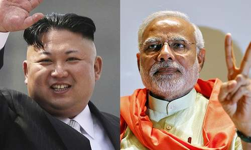 The Kim analogy for Modi