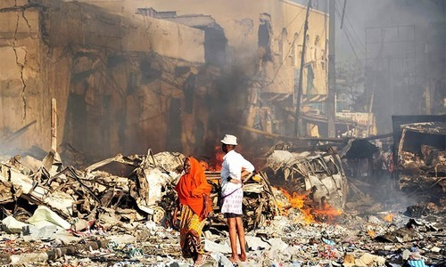Somali bombing toll hits over 300